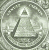 US dollar pyramid clip art