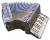 24-bass accordion clip art