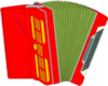 Accordion 2 clip art