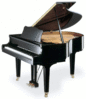 baby grand piano clip art