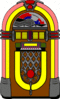 fifties jukebox clip art