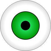 clear eye green