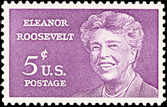 Eleanor Roosevelt stamp 2
