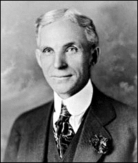 Inventor Henry Ford