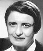 Philosopher Ayn Rand