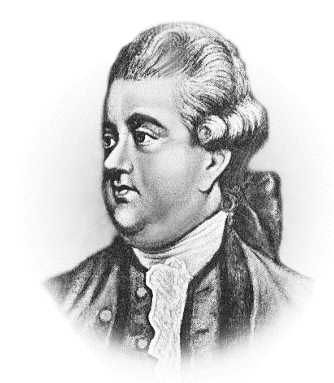 Philosopher Edward Gibbon