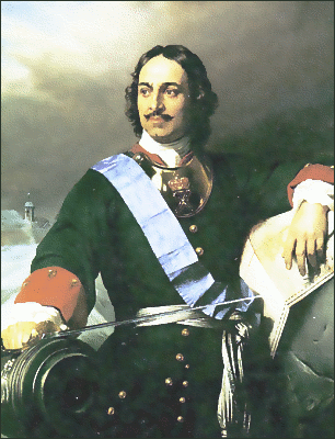 Politics Peter the Great 1838