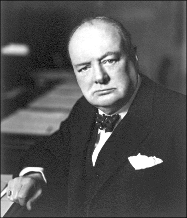 Politics Winston Churchill 1