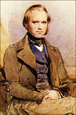 Science Charles Darwin young
