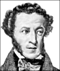 Writer Alexander Pushkin