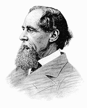 Writer Charles Dickens 1868
