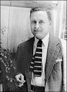Writer F Scott Fitzgerald