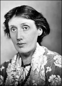 Writer Virginia Woolf