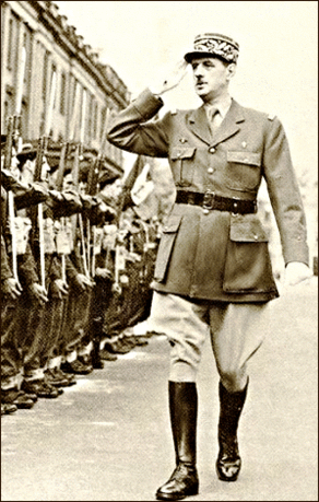 Warriors Charles DeGaulle