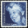 Eleanor Roosevelt stamp clip art