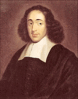 Philosopher Benedictus de Spinoza clip art