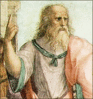 Philosopher Plato clip art