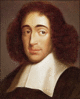 Philosopher Spinoza clip art