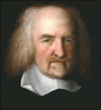 Philosopher Thomas Hobbes clip art