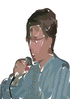 man singing 01 clip art
