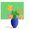 bouquet of flowers 01 clip art
