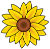 sunflower 1 clip art
