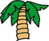 Palm Tree 2 clip art
