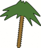 palm tree 5 clip art