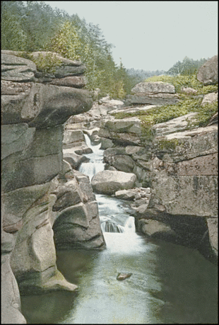 Postcard Amonoosuc NH