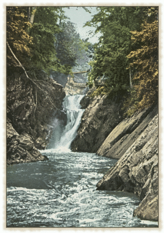 Postcard Lake Placid NY