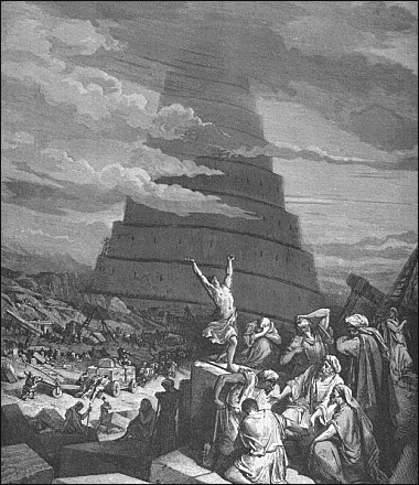Confusion of Tongues destruction of tower of Babel