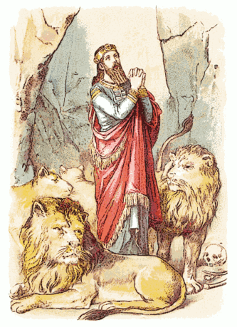 Bible Daniel in Lions Den