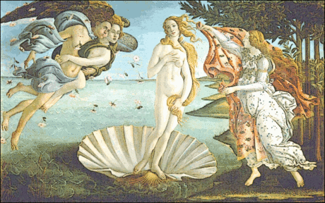 Roman Birth of Venus Venus Botticelli