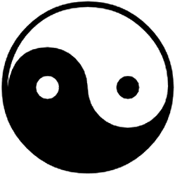 yin and yang Oriental Mysticism