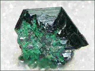 Chalcocite crystal