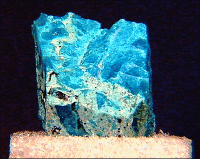 Chrysocolla silicized
