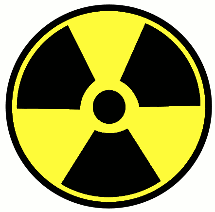 Safety radioactive sign 02
