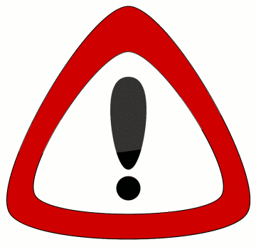 Safety warning symbol