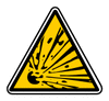 Safety Yellow MatieresExplosives clip art