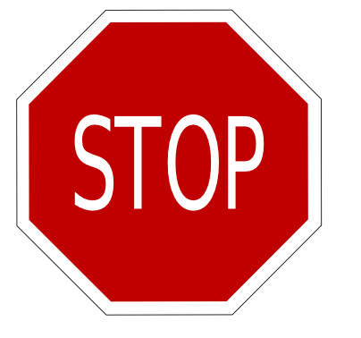 Street Road Sign stop sign 01