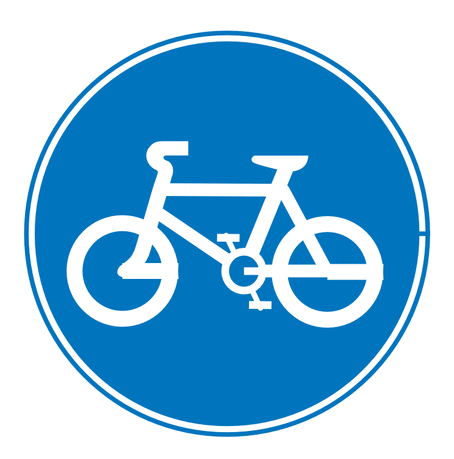 Street Road Sign cycles