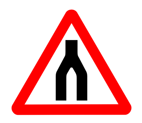 Street Road Sign end daul