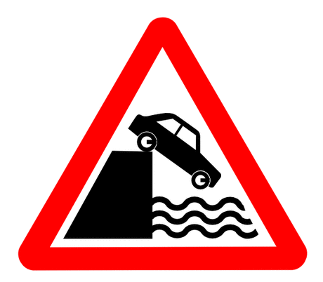Street Road Sign splash