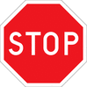 stop sign page clip art