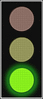 Traffic Lights green light full color clip art