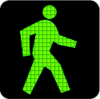 Traffic Lights walk light grid clip art