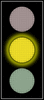 Traffic Lights yellow light full color clip art