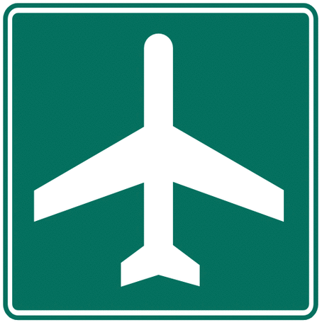 information sign airport