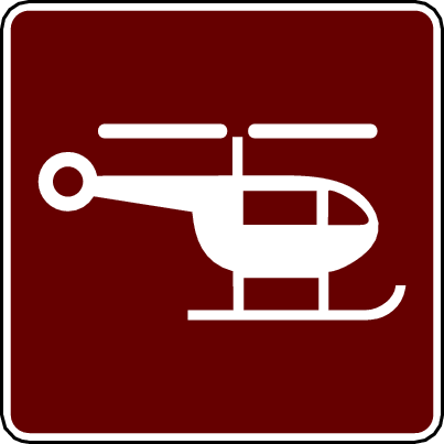 recreation sign helicopter