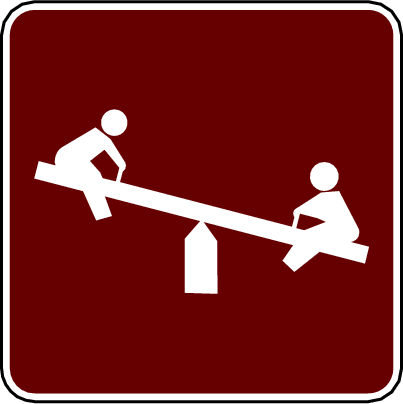 recreation sign playground